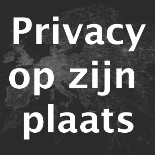 Witboek Privacy op zijn plaats - tussen willen weten en wetten