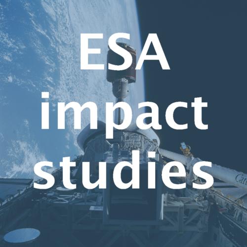 ESA impactstudies remote sensing data