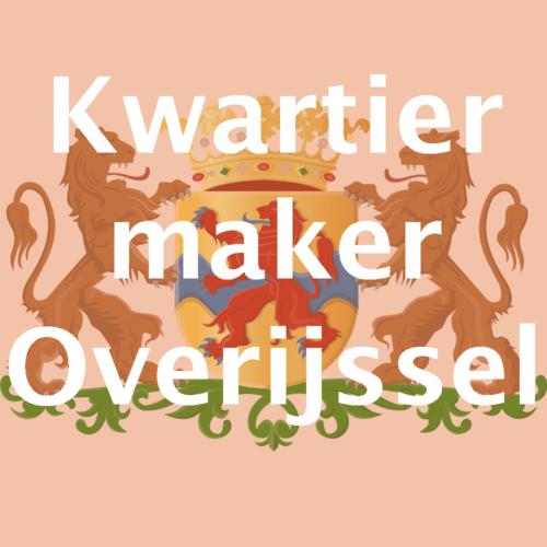 Kwartiermaker Open Data Provincie Overijssel