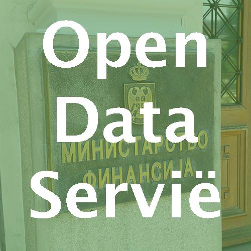 Open data implementatie Servië