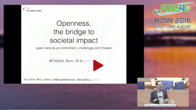 Openness, the bridge to societal impact with data-reuse
